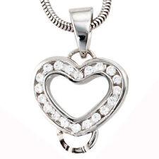 Halsketten und Anhänger mit Liebe- & Herzen Beschichtete echten Edelsteinen für Damen