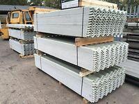 BIG SIX GRP FIBREGLASS CLEAR ROOF LIGHTS better than plastic roofing sheets!