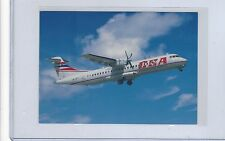 CSA Czech Airlines issued ATR-72-202 cont/l postcard