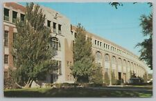 Des Moines IA~State Fair Grounds~Educational Bldg & Grand Stand~Vintage Postcard