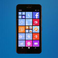 Good - Microsoft Lumia 640 XL - Black (AT&T) Touchscreen Smartphone - Free Ship