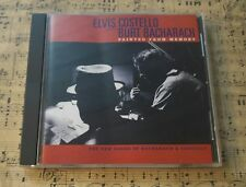 Elvis Costello Burt Bacharach - Painted From Memory CD Pre-Owned Ex Condition