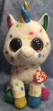 w-f-l TY BUDDY HARMONY UNICORN UNICORN Boos Glubschi 22 cm Glitter Eyes