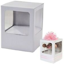 Queen Of Cake POP UP CAKE PRESENTATION BOX Disposable Pastry Decorating UK