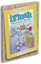 Uncle John's iFlush: Hunting for Heroes Bathroom Reader For Kids Only!-ExLibrary