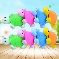 Cartoon Turtle Eraser Colorful Stationery School Supply Material Escolar Kit
