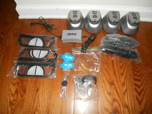 Lot of 4 iRobot Roomba Extended Life Virtual Wall Units + BUNDLE* of spare parts