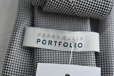 PERRY ELLIS Oxford Solid Tie Gray