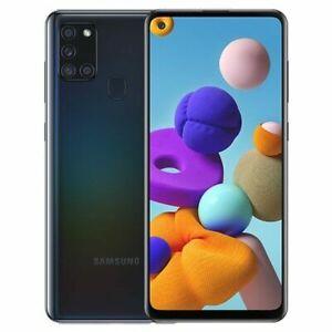 New Samsung Galaxy A21s Dual Sim 2020 4G LTE 32GB/64GB Smartphone SEALED COLOURS