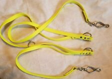 Biothane Euro Style Over-the-shoulder Leash 8 ft French scissors snap Hands Free