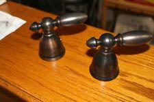Delta Faucet H616RB Victorian, 2 Metal Lever Handle Kit, Venetian Bronze Finish