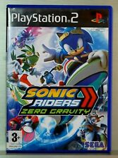 SONIC RIDERS ZERO GRAVITY - PLAYSTATION 2 - PAL ESPAÑA - COMPLETO