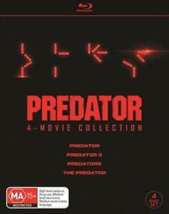 Predator / Predator 2 / Predators / The Predator Boxset Blu-ray