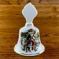 Dunoon Scotland Fine Bone China Bell Ornament Made In England Collectable VGC
