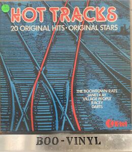 Various, Hot Tracks - Soft Rock Pop Rock Synth-pop Vinyl LP Record (NE 1049) EX