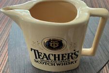PUB BAR Vintage Teachers Highland Cream Scotch Whiskey 1970s Water Jug, Inn