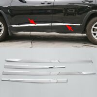 Chrome Body Side Molding Line Cover Trim Garnish fit for Jeep Cherokee 2014-2020