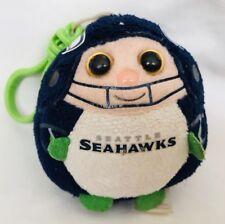 Seattle Seahawks keychain backpack clip TY Beanie ball