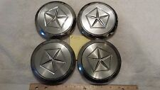 SET of FOUR Chrysler Dodge Plymouth Wheel Center Caps Part Numbers 7329 O.E.M.