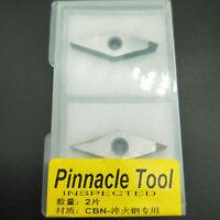 (CBN)VNMG160404 CBN for Aluminum Polycrystalline diamond tool CNC 2pcs