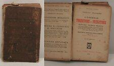 L'operaio tornitore e fresatore - Codini / Massero - 1929 Hoepli - U004