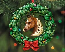 Breyer Horses 2016 Equestrian Wreath Christmas Tree Ornament - 700641