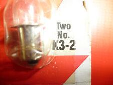 "NIP - RAYOVAC KRYPTON BULBS - FOR 3 ""D"" CELL FLASHLIGHT- MODEL K3-2/PR3"