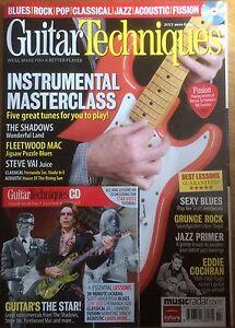 Guitar Techniques magazine & CD: July 2010