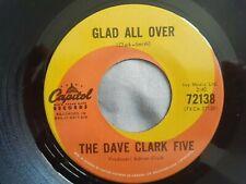 "The Dave Clark Five Glad All Over original 7"" 45 MINT Canada Capitol 72138"