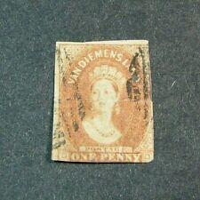 Tasmania - Australia Stamp Scott# 11b Victoria 1857-69 W19