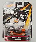 Hot Wheels Marvel Ghost Rider Charger Die-Cast Vehicle Real Riders FLD30 DMC55