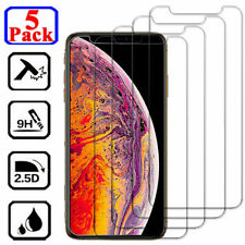 For iPhone 12 Mini 11 Pro X XS Max XR 6 7 8 Plus Tempered Glass Screen Protector