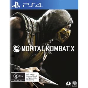Mortal Kombat X PS4 Aus Game