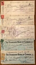Old Cancelled Cheques