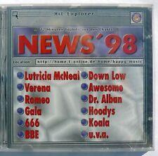 News`98 Hit-Explorer CD 18 Tracks  Hoodys Koala BBE Original NEU + versiegelt