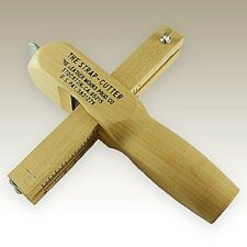 "Leather Works 4"" Strip and Strap Cutter The American Hardwood Original"