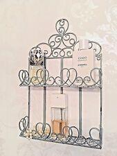 Shabby Chic Shelf Wall Unit French Vintage Storage Display Bathroom Rack Cabinet