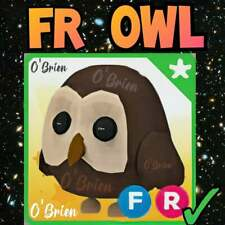 🦉 (FR) OWL 🦉  With Fly Ride. Adopt Me - Roblox. Legendary pet farm game toy