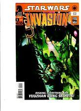 2009 Dark Horse Lucas Books Star Wars Invasion Comic