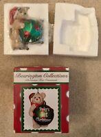 New Boyds Bearington Collection Santa Bear Ornament Baby's First Christmas Resin