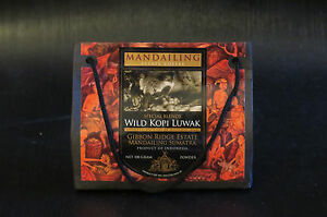 WILD KOPI LUWAK BLEND. GREAT CHRISTMAS GIFT FOR COFFEE LOVERS SET OF 2 GIFT SETS