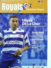 Reading v Tottenham Hotspur 15/1/2008 FA Cup 3rd Round Replay. VERY RARE. MINT.