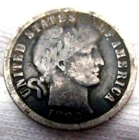 1892 O Barber Dime Great Condition