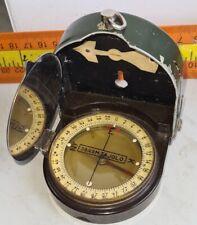 Military Compass+Holster Original WW2 ORIGINAL ANTIQUE Austro Hungary Irany