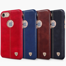NILLKIN Englon Leather Cover Case Retro For Apple iPhone Samsung Galaxy Plain