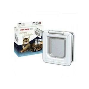 Cat Mate Elite I.D. Disc Cat Flap With Timer Control - 305W - NQP