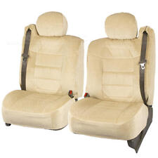 Truck Seat Covers Front Pair Tan Scottsdale Built-in Seat Belt for Chevy Tahoe