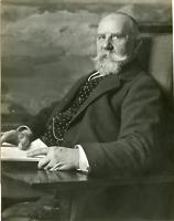 Phot. Fr. Muller, Le Professeur Jean Chevalier de Peterson  Vintage silver print