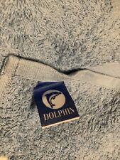 ** BN Dolphin Blue Bath Towel Made In Portugal **