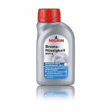 NIGRIN Bremsflüssigkeit DOT4 250 ml 74081 - PKW Auto Kfz Motorrad